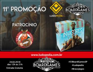 Banner Facebook - 11a Promoção BGSP - Ludopedia