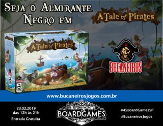 Promo - Bucaneiros Jogos - A Tale of Pirates