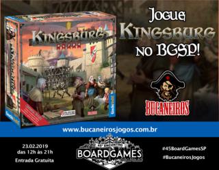 Promo - Bucaneiros Jogos - Kingsburg