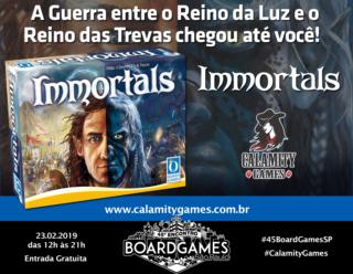 Promo - Calamity Games - Immortals