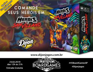 Promo - Dijon Jogos - Heróis de San Villano