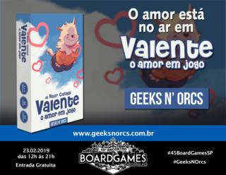 Promo - Geeks N' Orcs - Valente
