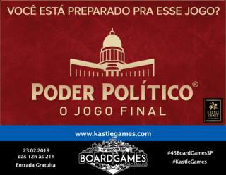 Promo - Kastle Games - Poder Político