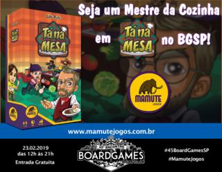 Promo - Mamute Jogos - Tá na Mesa
