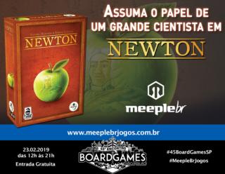 Promo - Meeple BR - Newton