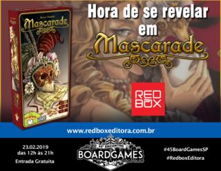 Promo - Redbox - Mascarade
